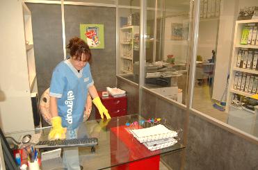 Limpieza en oficinas y empresas