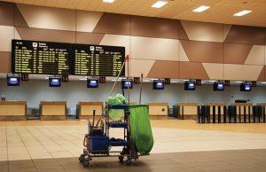 Limpieza en aeropuertos con eligroup