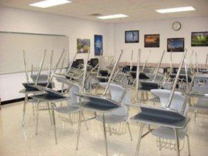 Limpieza en centros educativos