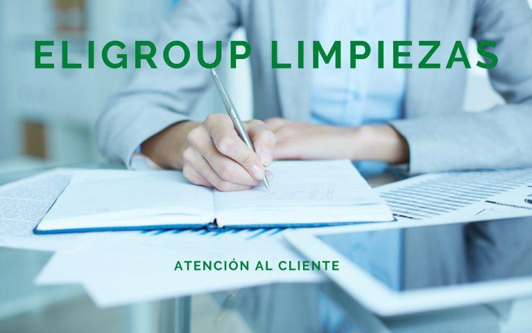 Servicio atención cliente - Empresa Limpieza Eligroup